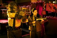 ANOTHER WOLFCOP, FROM LEFT, LEO FAFARD, AMY MATYSIO, 2017. ©PARADE DECK FILMS