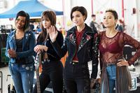 PITCH PERFECT 3, RUBY ROSE (HAND UP), ANDY ALLO (RIGHT), 2017. PH: QUANTRELL D. COLBERT/©UNIVERSAL PICTURES