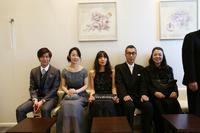 A BRIDE FOR RIP VAN WINKLE, (AKA RIPPU VAN WINKURU NO HANAYOME), HARU KUROKI (WEARING GRAY DRESS), COCCO (CENTER), HIDEKO HARA (FAR RIGHT), 2017. ©ELEVEN ARTS
