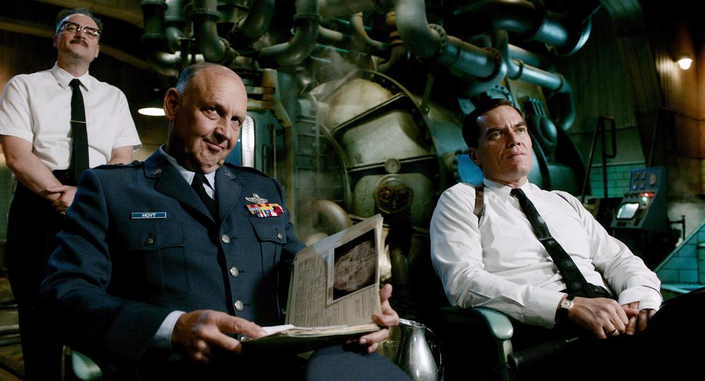 THE SHAPE OF WATER, FROM LEFT: DAVID HEWLETT, NICK SEARCY, MICHAEL SHANNON, 2017. TM & © FOX SEARCHLIGHT PICTURES. ALL RIGHTS RESERVED.