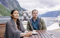 DOWNSIZING, FROM LEFT: HONG CHAU, MATT DAMON, 2017. © PARAMOUNT PICTURES