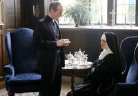 NOVITIATE, FROM LEFT: DENIS O'HARE, MELISSA LEO, 2017. PH: MARK LEVINE/© SONY PICTURES CLASSICS