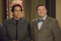 NIGHT AT THE MUSEUM: BATTLE OF THE SMITHSONIAN, (aka NIGHT AT THE MUSEUM 2), from left: Ben Stiller, Ricky Gervais, 2009. Ph: Doane Gregory, TM & Copyright  ©20th Century Fox Film Corp. All rights reserved.