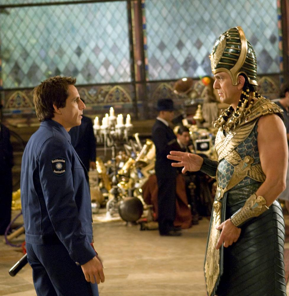 NIGHT AT THE MUSEUM: BATTLE OF THE SMITHSONIAN, (aka NIGHT AT THE MUSEUM 2), from left: Ben Stiller, Hank Azaria, 2009. Ph: Doane Gregory,/TM & Copyright ©20th Century Fox Film Corp. All rights reserved.