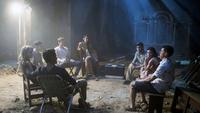 TRUTH OR DARE, (AKA BLUMHOUSE'S TRUTH OR DARE), CLOCKWISE FROM BOTTOM LEFT: TYLER POSEY, VIOLET BEANE, HAYDEN SZETO, NOLAN GERARD FUNK, SOPHIA TAYLOR ALI, LANDON LIBOIRON, LUCY HALE, SAM LERNER, 2018. © UNIVERSAL PICTURES