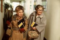 NEW YORK STORIES, Jessie Keosian, Mae Questel, 1989, (c) Buena Vista