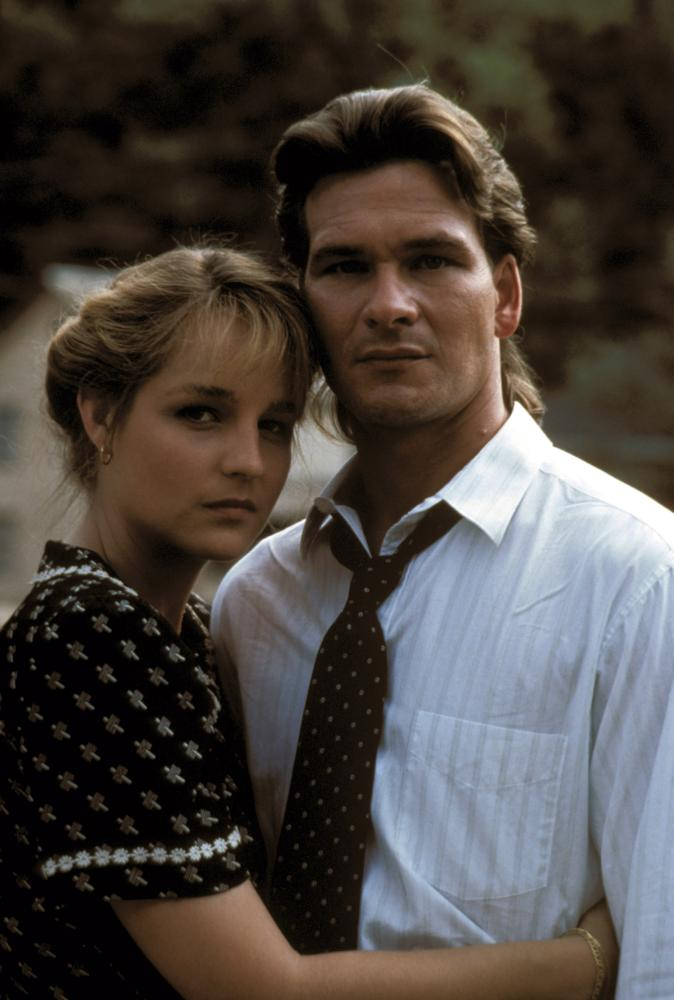 NEXT OF KIN, Helen Hunt, Patrick Swayze, 1989, (c) Warner Brothers