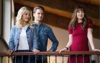 FIFTY SHADES FREED, L-R: RITA ORA, LUKE GRIMES, DAKOTA JOHNSON, 2018. PH: DOANE GREGORY/© UNIVERSAL PICTURES