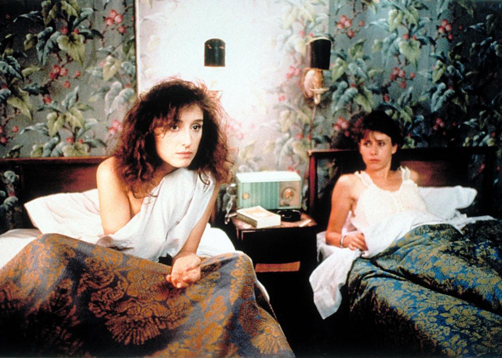 MYSTERY TRAIN, Nicoletta Braschi, Elizabeth Bracco, 1989, (c) Orion