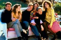 MYSTIC PIZZA, Vincent D'Onofrio, Lili Taylor, William R. Moses, Annabeth Gish, Adam Storke, Julia Roberts, 1988, (c) Samuel Goldwyn