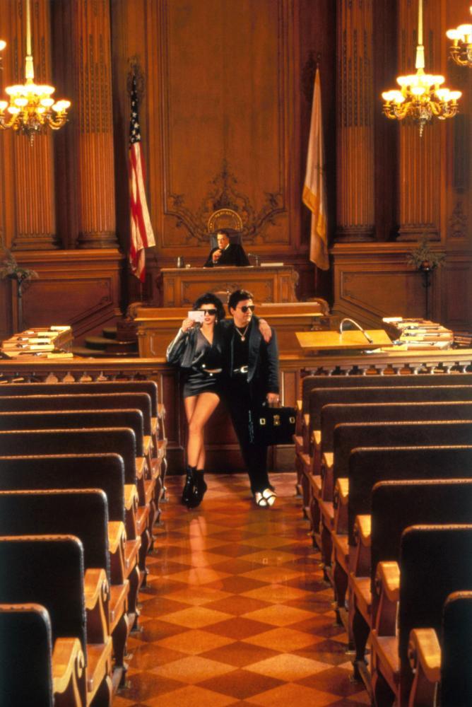 MY COUSIN VINNY, Marisa Tomei, Fred Gwynne, Joe Pesci, 1992, TM & Copyright (c) 20th Century Fox Film Corp.