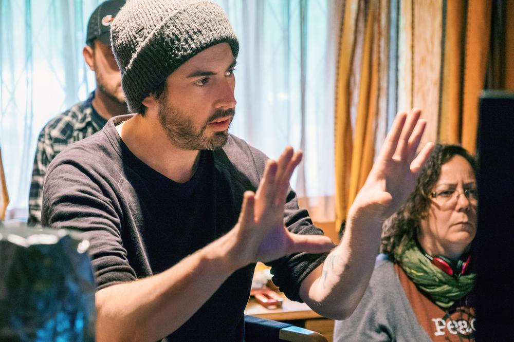 TULLY, DIRECTOR JASON REITMAN, ON SET, 2018. PH: KIMBERLY FRENCH/© FOCUS FEATURES