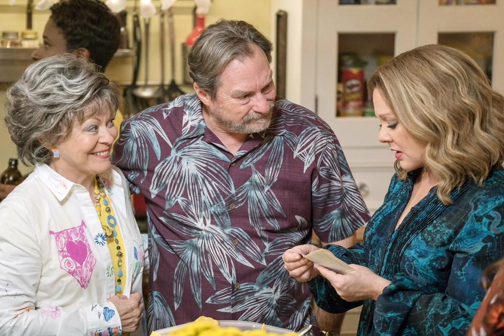 LIFE OF THE PARTY, FROM LEFT, JACKIE WEAVER, STEPHEN ROOT, MELISSA MCCARTHY, 2018. PH: HOPPER STONE. ©WARNER BROS.