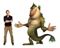 MONSTERS VS. ALIENS, Will Arnett, voice of The Missing Link, 2009. ©Paramount