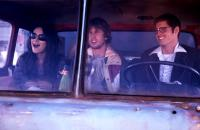 MOVING MCALLISTER, from left: Mila Kunis, Jon Heder, Ben Gourley, 2007. ©First Independent Pictures