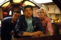 MORONS FROM OUTER SPACE, from left: Paul Bown, Jimmy Nail, Joanne Pearce, 1985. ©MGM
