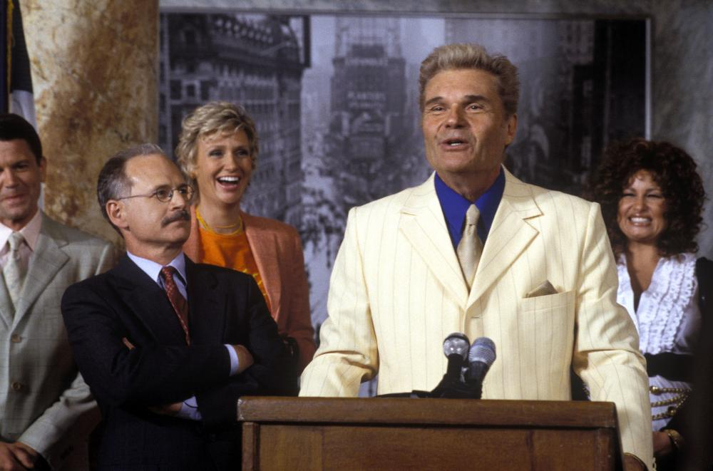 A MIGHTY WIND, Michael Mantell, Jane Lynch, Fred Willard, Jennifer Coolidge, 2003, (c) Warner Brothers