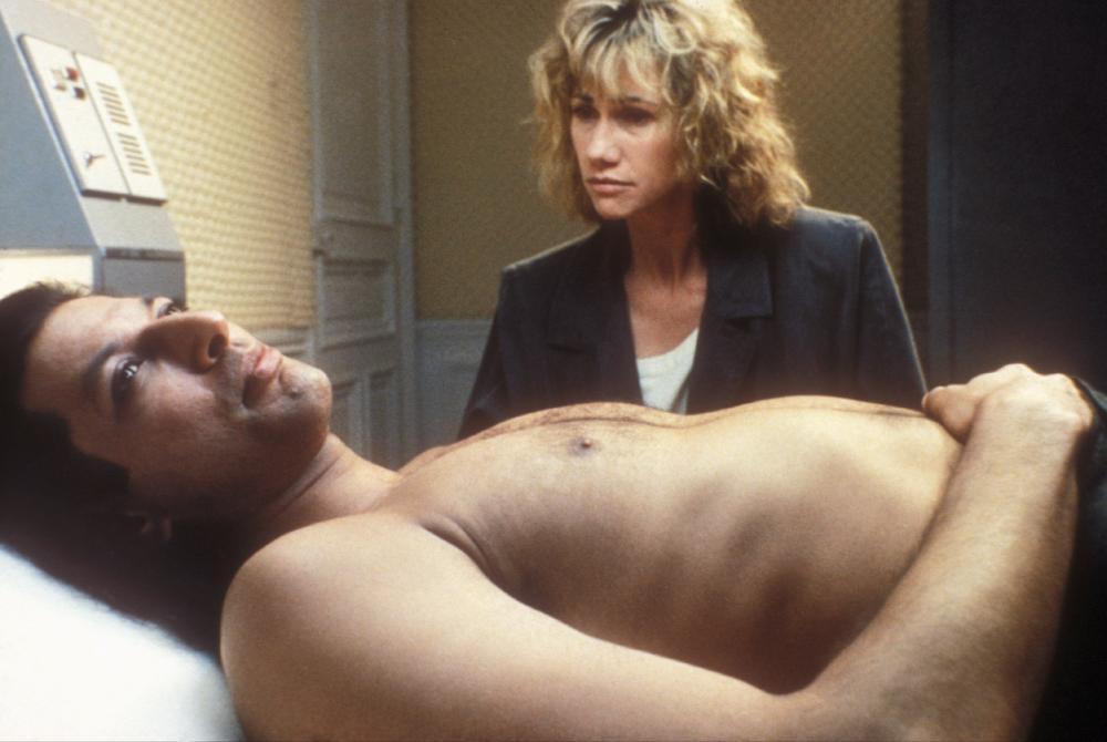 MISTER FROST, Jeff Goldblum, Kathy Baker, 1990. ©Triumph Releasing