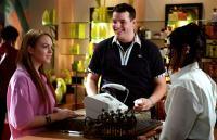MEAN GIRLS, Lindsay Lohan, Daniel Franzese, Lizzy Caplan, 2004, (c) Paramount