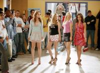 MEAN GIRLS, Lindsay Lohan, Amanda Seyfried, Rachel McAdams, Lacey Chabert, 2004, (c) Paramount