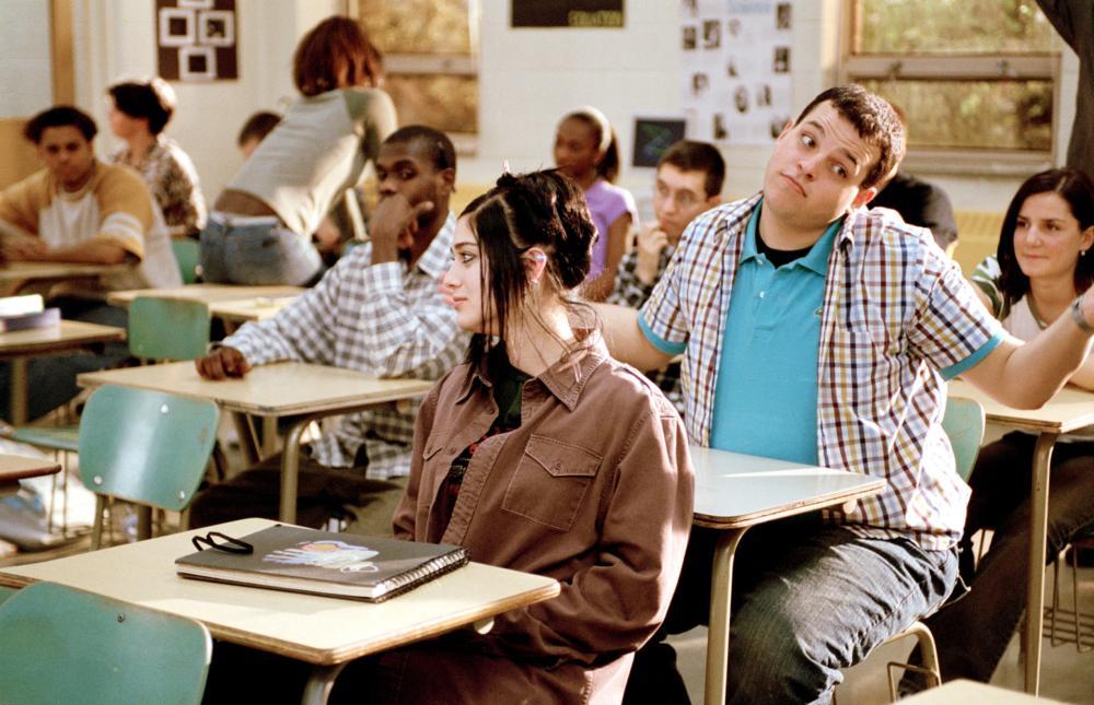 MEAN GIRLS, Lizzy Caplan, Daniel Franzese, 2004, (c) Paramount