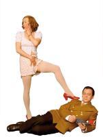 MY FUHRER, (MEIN FUHRER - DIE WIRKLICH WAHRSTE WAHRHEIT UBER ADOLF HITLER), Katja Riemann as Eva Braun, Sylvester Groth as Joseph Goebbels, 2007. ©First Run Features