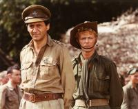 MERRY CHRISTMAS, MR. LAWRENCE, from left: Tom Conti, David Bowie, 1983. ©Universal