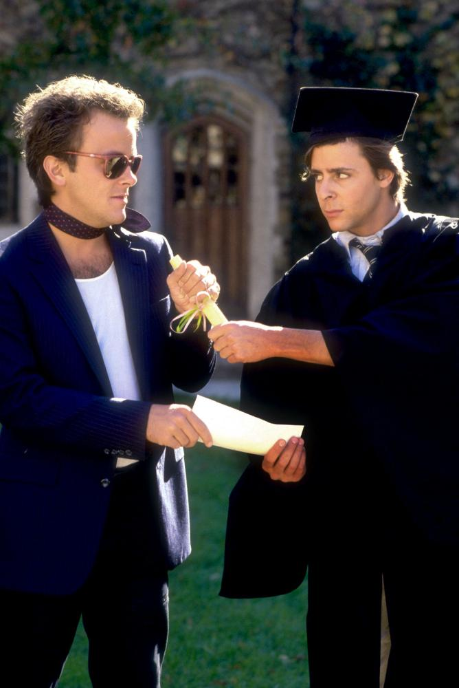 making the grade A spoiled rich young man hires a young hustler, who lives in a broken car and owes money to a dicey loan shark, to take his place in his elite prep school.