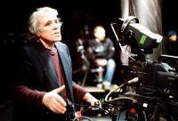MARY, director Abel Ferrara, on set, 2005