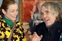 MARY, Stefania Rocca, Director Abel Ferrara, on set, 2005
