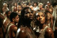 THE MATRIX REVOLUTIONS, Harold Perrineau, Nona Gaye, 2003, (c) Warner Brothers