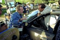 MATCHSTICK MEN, Director Ridley Scott, Nicolas Cage on the set, 2003, (c) Warner Brothers