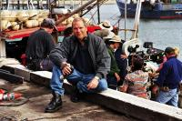 A MAN'S GOTTA DO, producer John Winter on set, 2004