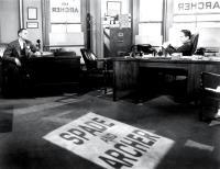 THE MALTESE FALCON, Jerome Cowan, Humphrey Bogart, 1941