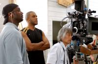 MADEA'S FAMILY REUNION, Director Tyler Perry, 1st AD Roger Bob, Director of Photography, Toyomichi Kurita, on set, 2006, ©Lions Gate