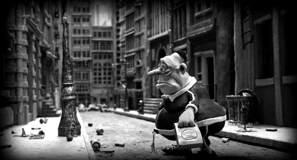 MARY AND MAX, Max Jerry Horovitz (voice: Philip Seymour Hoffman), 2009. ©Icon Entertainment International