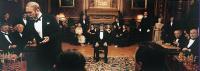 THE LUZHIN DEFENCE, Stuart Wilson (standing left), John Turturro (blindfolded), 2000, (c) Sony Pictures Classics
