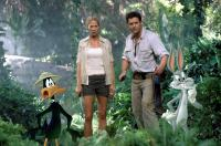 LOONEY TUNES: BACK IN ACTION, Daffy Duck, Jenna Elfman, Brendan Fraser, Bugs Bunny, 2003, (c) Warner Brothers