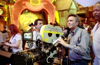 LOONEY TUNES: BACK IN ACTION, Director Joe Dante on the set, 2003, (c) Warner Brothers