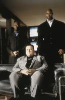 LOCK, STOCK AND TWO SMOKING BARRELS, Steven Marcus (seated), 1998, (c) Gramercy Pictures