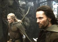 THE LORD OF THE RINGS: THE RETURN OF THE KING, Orlando Bloom, Viggo Mortensen, 2003, (c) New Line
