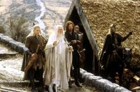 THE LORD OF THE RINGS: THE RETURN OF THE KING, Orlando Bloom, Ian McKellen, Viggo Mortensen, 2003, (c) New Line