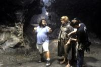 THE LORD OF THE RINGS: THE RETURN OF THE KING, director Peter Jackson, Sean Astin on the set of, 2003, (c) New Line