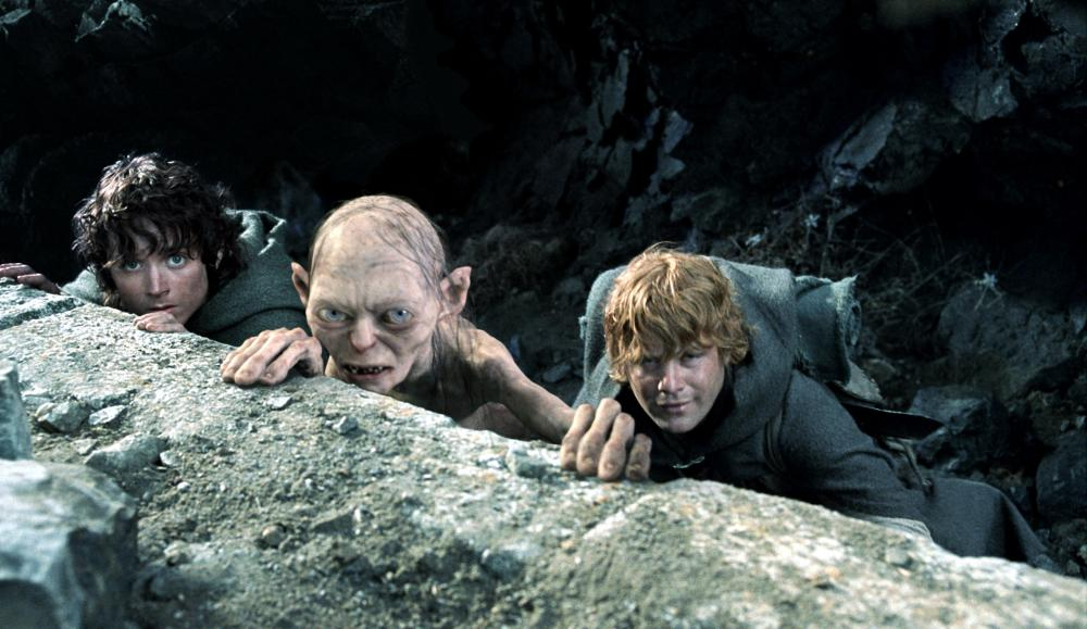 THE LORD OF THE RINGS: THE RETURN OF THE KING, Elijah Wood, Andy Serkis, Sean Astin, 2003, (c) New Line