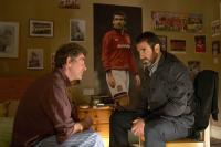 LOOKING FOR ERIC, from left: Steve Evets, Eric Cantona, 2009. Ph: Joss Barrett/©Icon Film Distribution