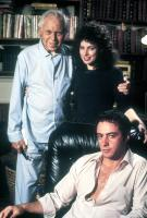 LOVE AND MONEY, standing from left: King Vidor, Susan Heldfond, Ray Sharkey (seated), 1982, © Paramount
