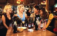 LOVE ACTUALLY, Elisha Cuthbert, January Jones, Kris Marshall, Ivana Milivevic, 2003, (c) Universal
