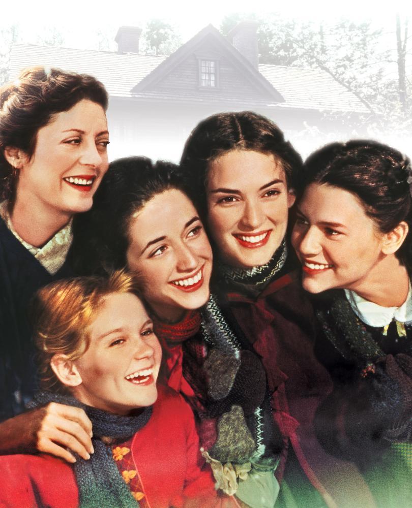 LITTLE WOMEN, Susan Sarandon, Kirsten Dunst, Trini Alvarado, Winona Ryder, Claire Danes, 1994, (c) Columbia