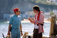 THE LIFE AQUATIC WITH STEVE ZISSOU, Willem Dafoe, director Wes Anderson on set, 2004, (c) Touchstone