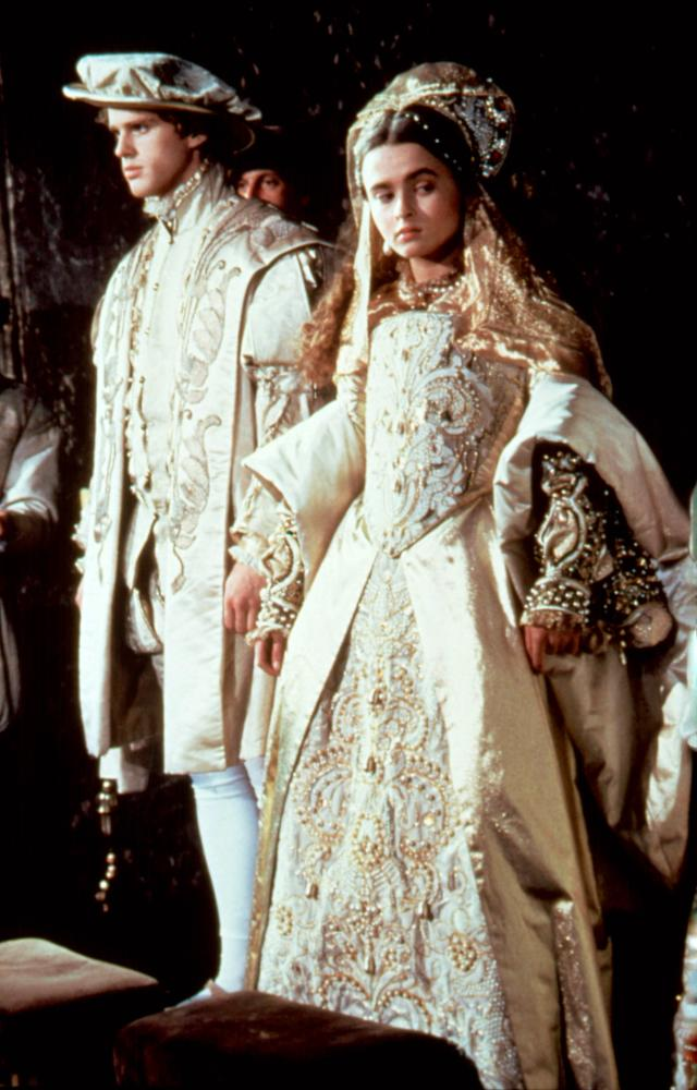 LADY JANE, from left: Cary Elwes, Helena Bonham Carter as Lady Jane Grey, 1986. © Paramount